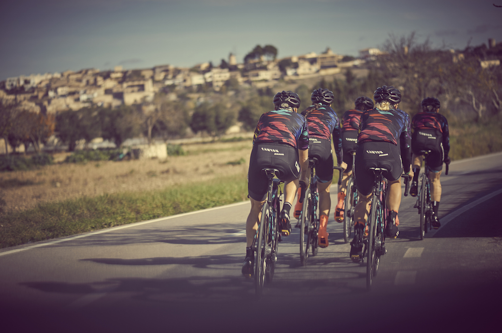 CANYON//SRAM Racing chose Mallorca for their first team training camp
