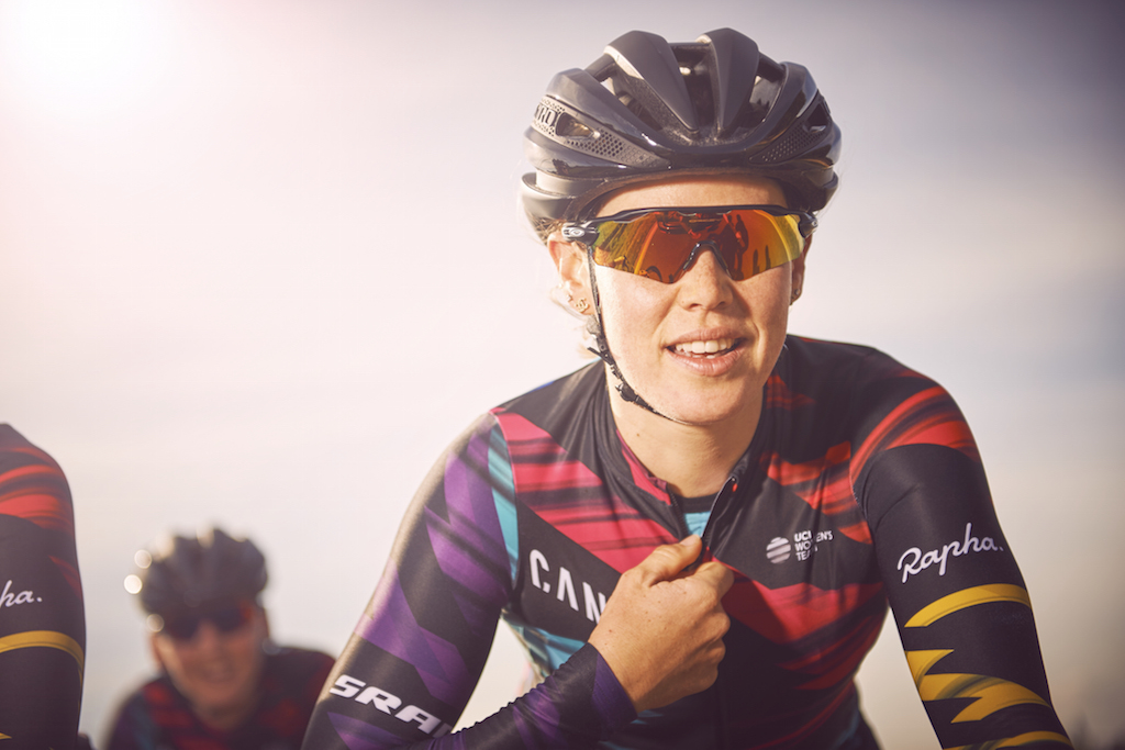 Tiffany Cromwell will be the first rider to compete in Canyon//SRAM Racing colours