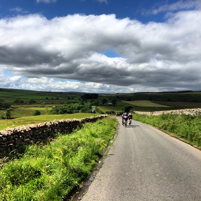 Awesome ride out to watch the stage today. Yorkshire has really turned it on. A 190km festival today. #tdf - via CyclingTips Instagram feed