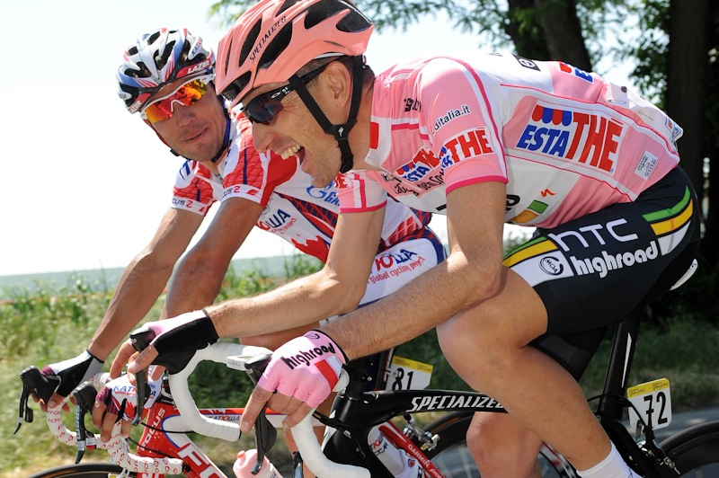 Pinotti was a successful rider in his own right and took stages plus held the overall lead in the Giro d'Italia