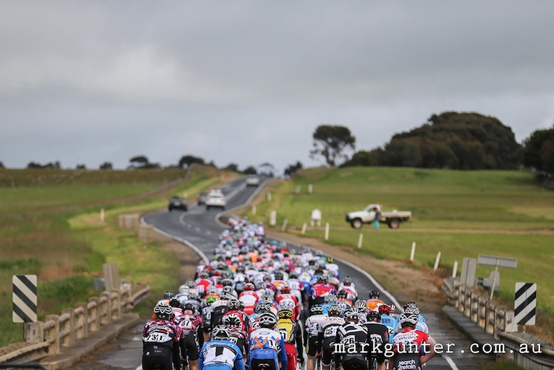 Melbourne to Warrnambool part of the National Road Series 2012