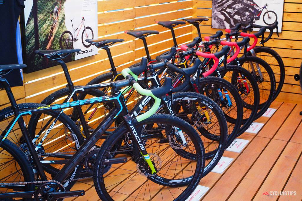 The 2017 range of Focus bikes has been mildly refreshed for the upcoming season.