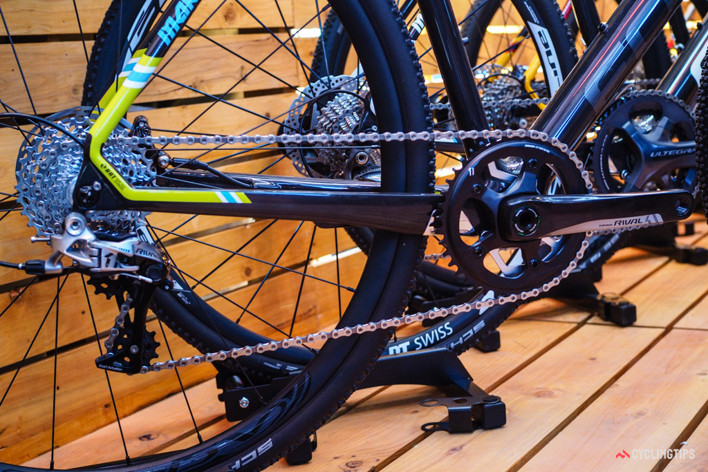 Single-chainring drivetrains are featured more prominently on Focus's 2017 cyclocross range.