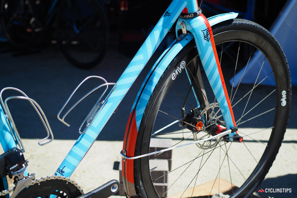 The painted-to-match fenders are a nice touch.