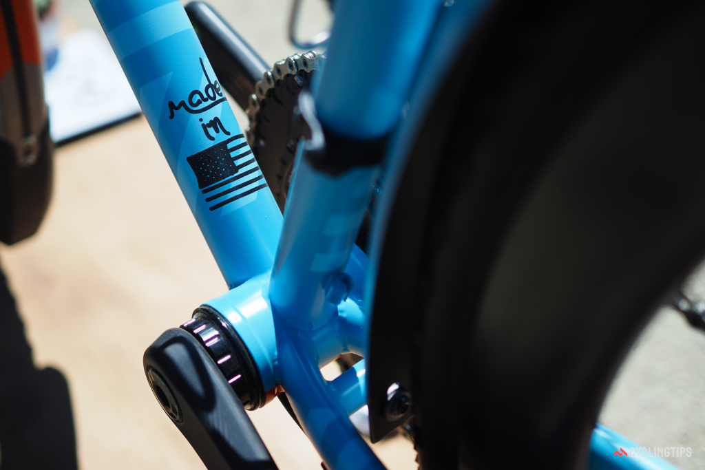The Franco Bicycles Grimes Disc is welded in Portland, Oregon using US-made True Temper double-butted chromoly tubing.