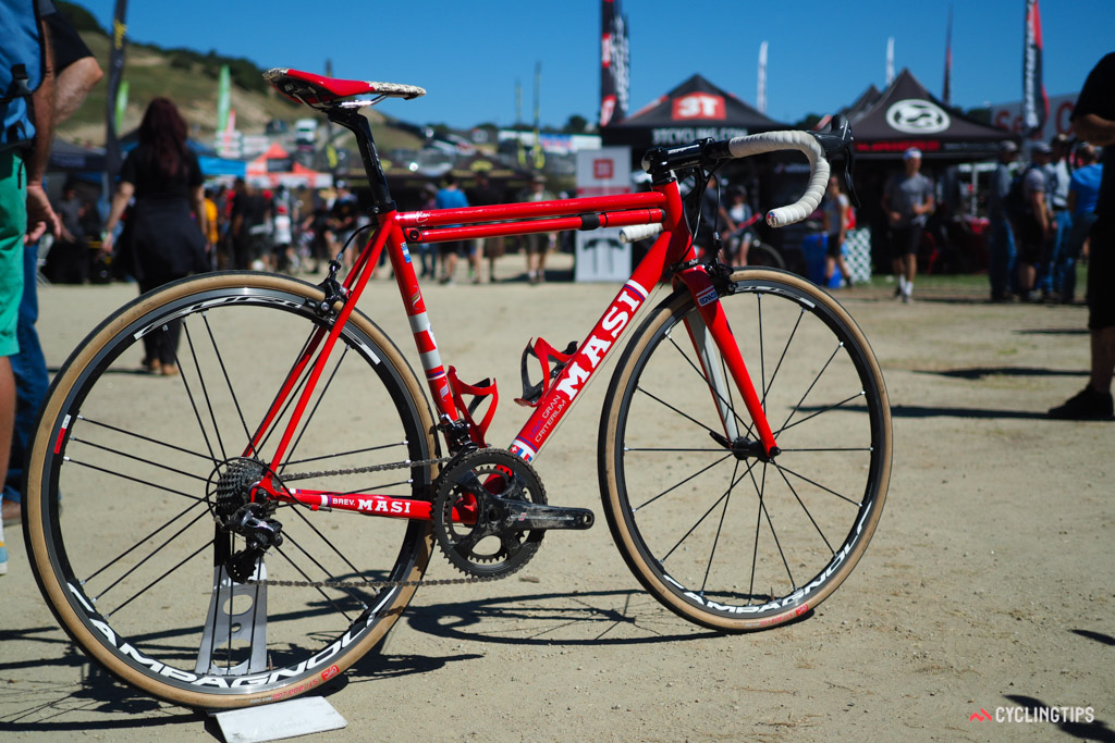 Most of Masi's premium range is made of carbon fibre but this USA-made Legacy Gran Criterium is arguably the gem of the line.