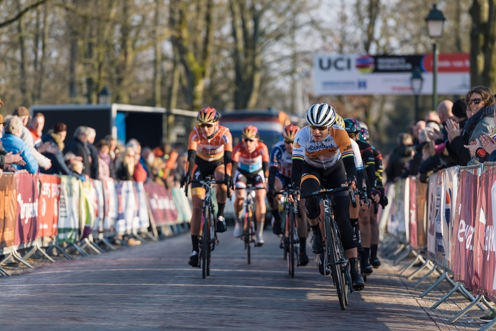 Marianne Vos at the front of the race: A familiar sight that was missed