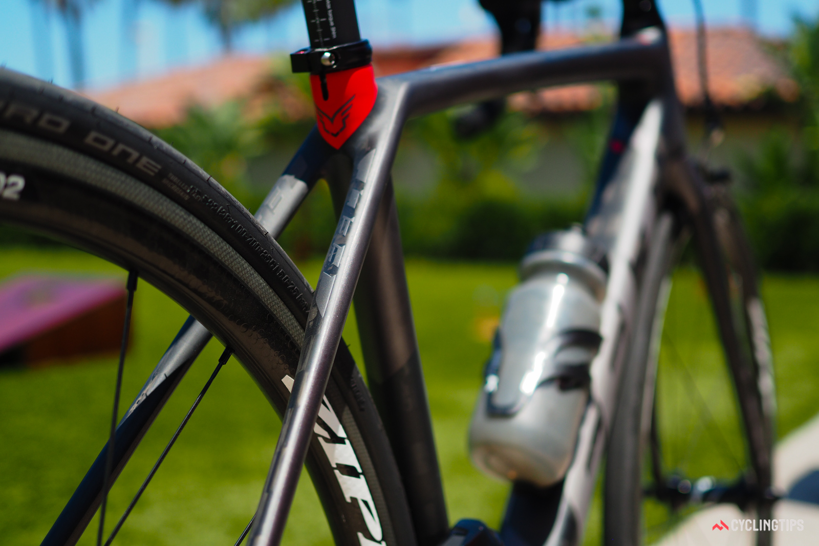 Felt also ditched the traditional seatstay bridge, which is said to confer a smoother ride to the rear end.