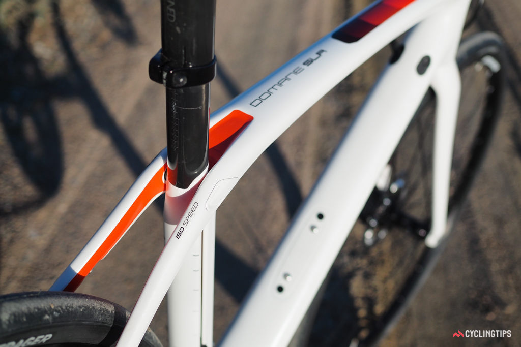 The innovative IsoSpeed 'decoupler' is what truly sets the Domane family apart. It seemed gimmicky when it was first introduced in 2012 but it works remarkably well.