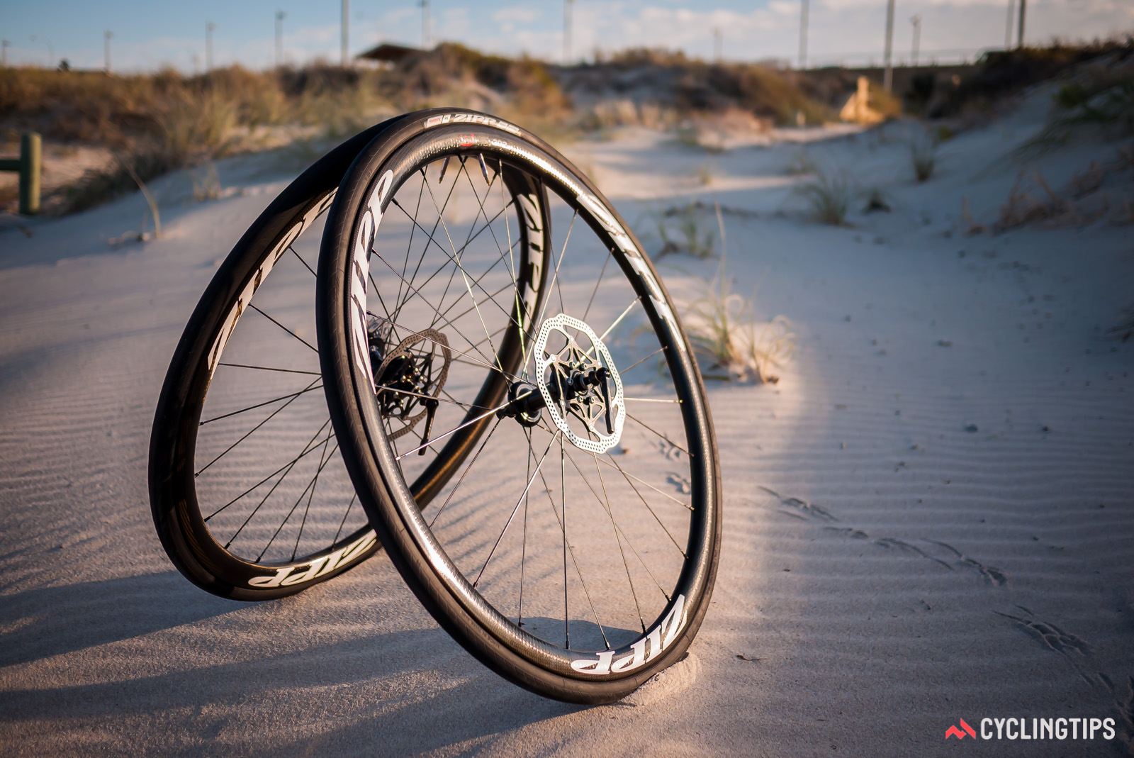 It's getting harder for traditionalists to dismiss the relevance of disc brakes, especially for carbon wheelsets.