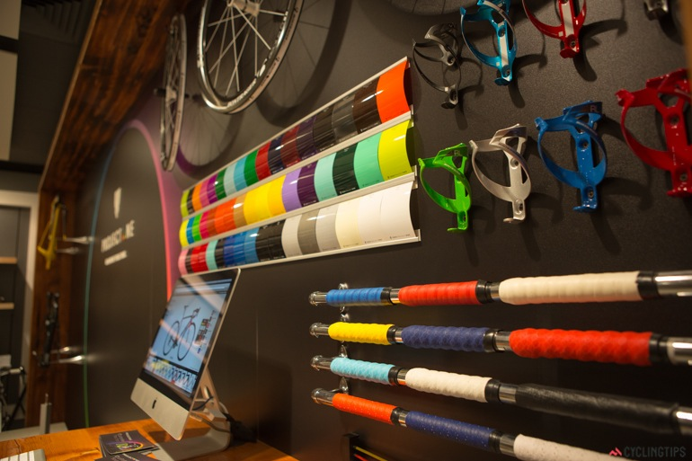 Project One allows you to customise paint scheme and nearly every component on your bike.
