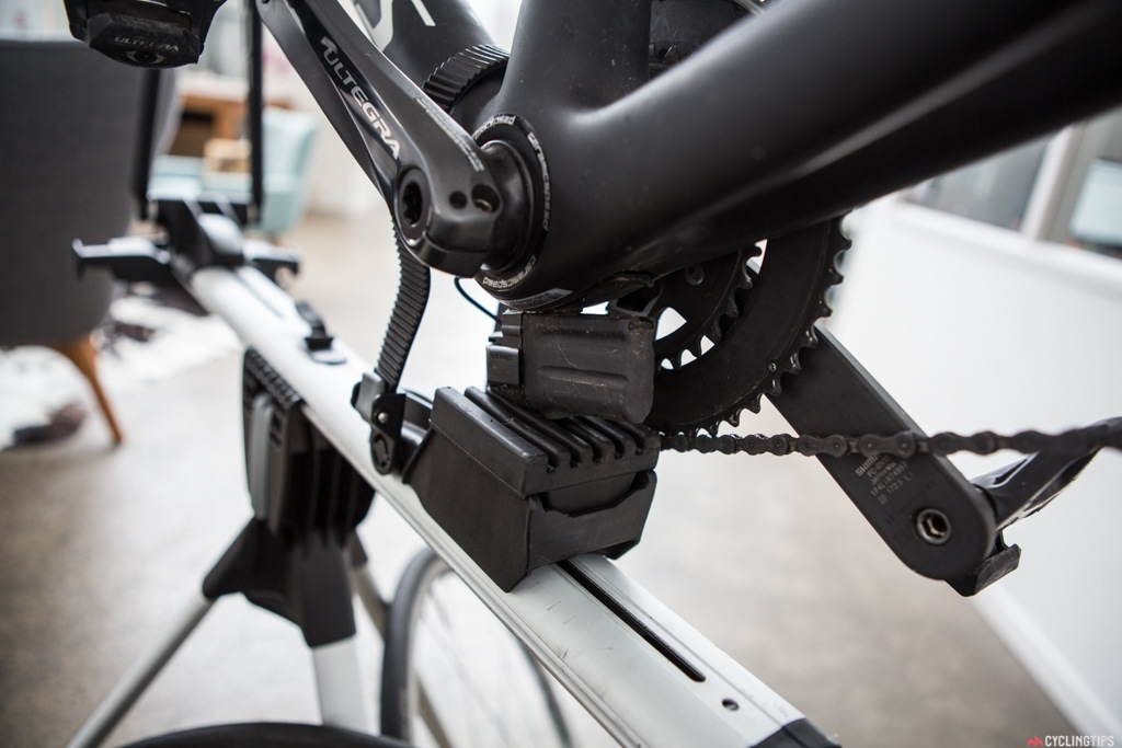 The only issue with these types of workstands is if you have a Di2 battery mounted underneath the bottom bracket.