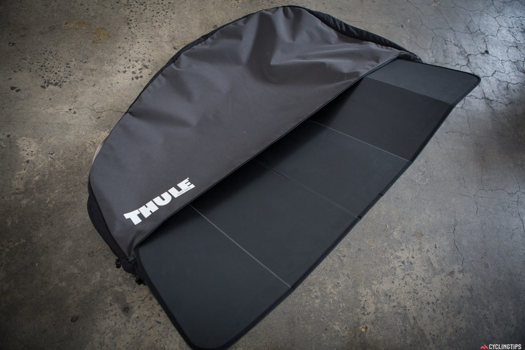 Corflute side panels for protection and can be removed and broken down for easy storage.