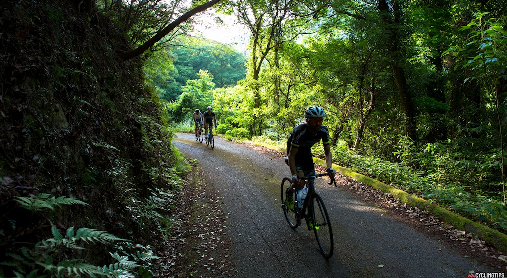 Off the beaten track from the Shimanami cycleway