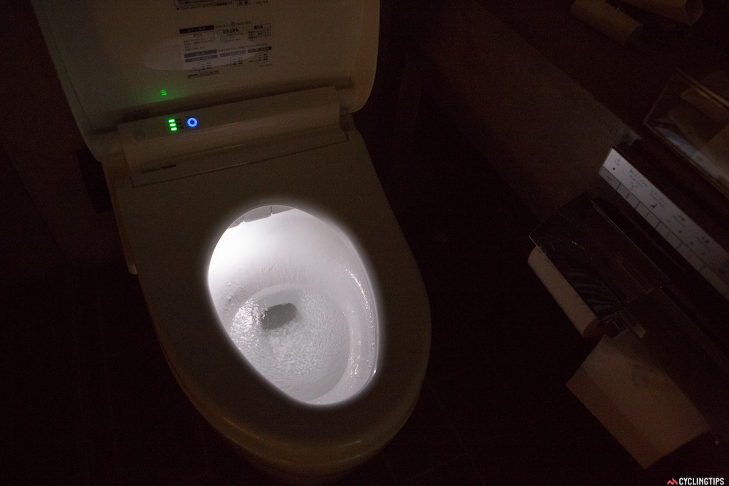 Out of all the toilets I've seen in Japan, this has to be one of the best