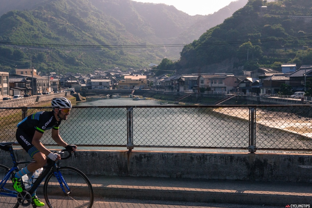 Crossing through historic Japanese towns that wouldn't be a tourist destination for many