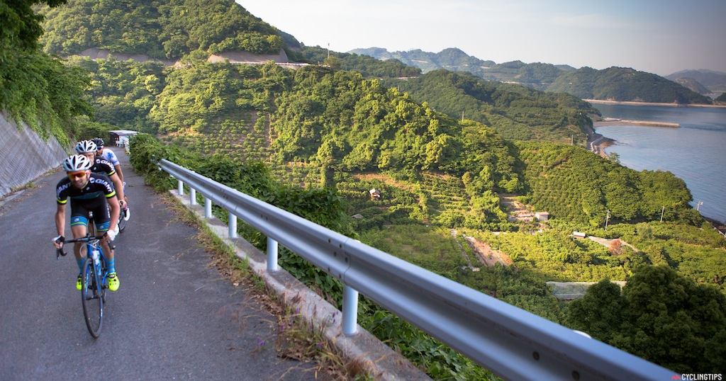 Some of the roads that had a remarkable resemblance to Italy's Cinque Terre