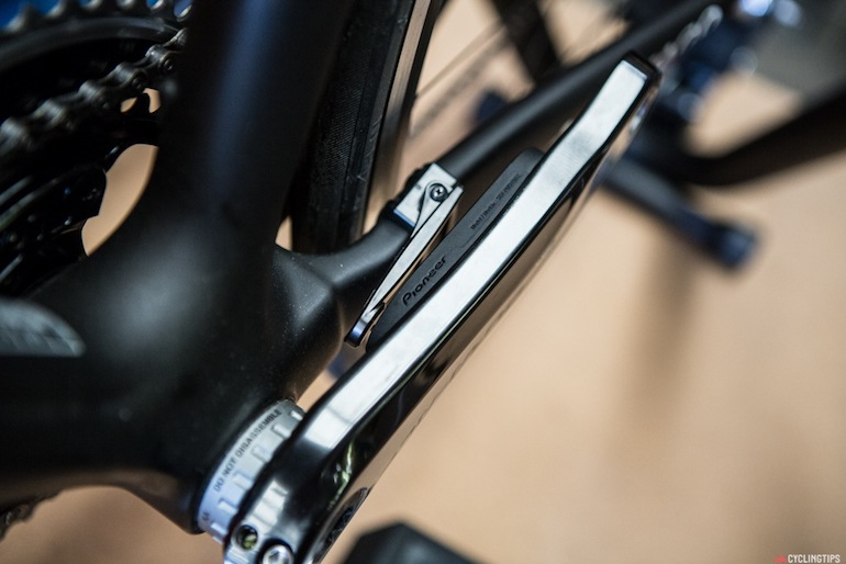 The arm-type magnets that need to be installed if the adhesive magnets don't work on your particular bike.