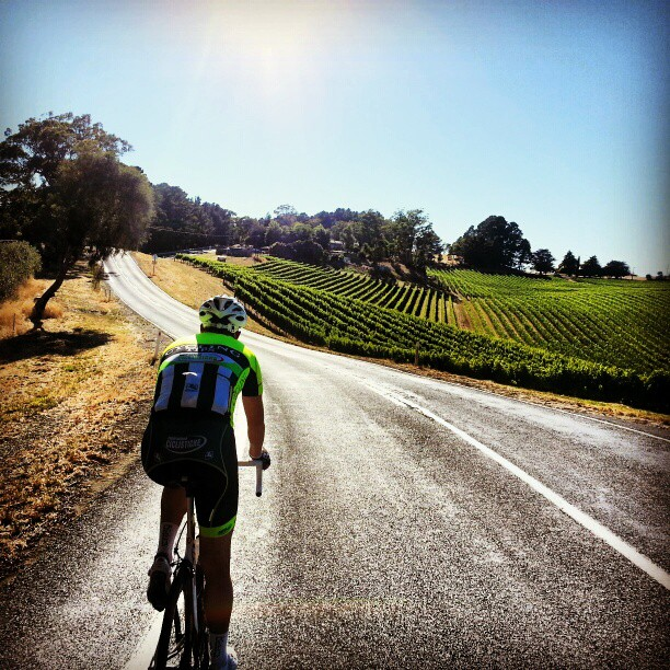 Everyone thinks I'm joking when I say I'd rather be at the #tdu then the #tdu (Instagram)