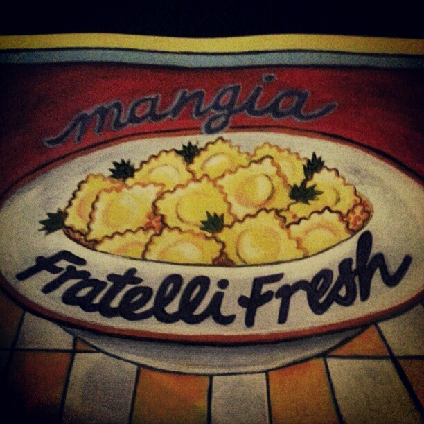 Fratelli Fresh in Sydney.I highly recommend the meatballs. (Instagram)