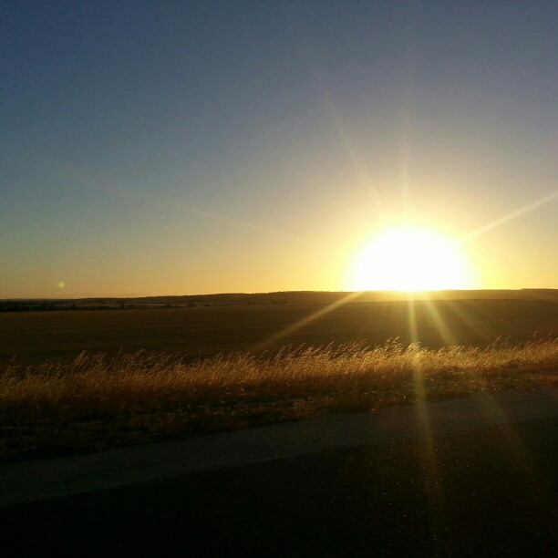 The drive to Adelaide (Instagram)
