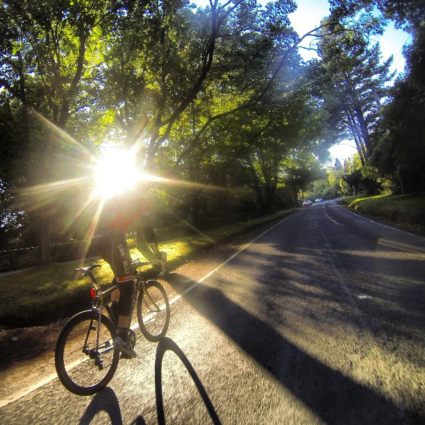 The exact opposite of what Roubaix will be like. #beautiful #wymtm #gopro #outsideisfree (Instagram)