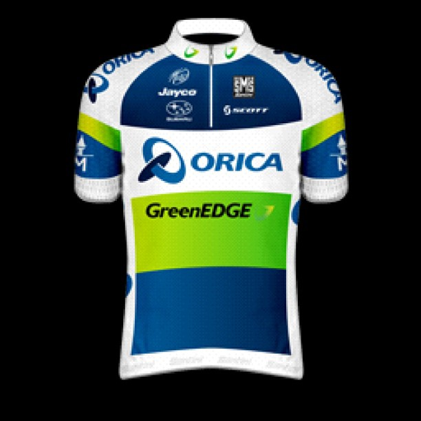Thoughts on the new Orica GreenEDGE kit design? (Instagram)
