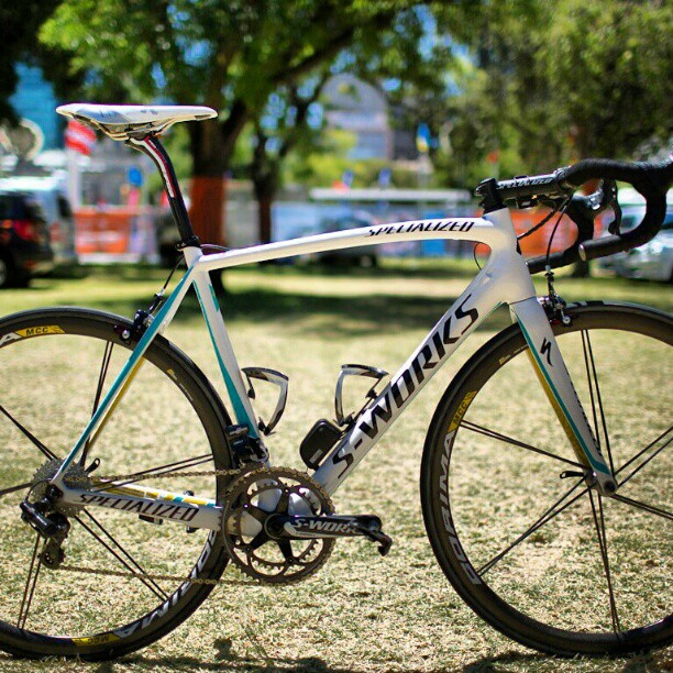 Astana's Specialized Tarmac S-Works (Instagram)