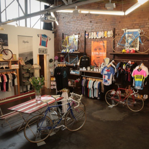 10 of the world's coolest bike shops on www.cyclingtips.com.au.  Not an exhaustive list. Many more to come (Instagram)