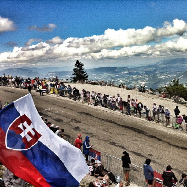 Windy and cold at the top of the Grand Colombier (Instagram)