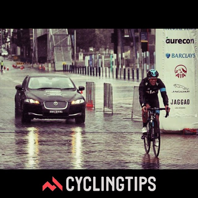 There are still five spots remaining in our @jaguaraustralia luxury cycling weekend competition. All you need to do is upload a photo that best represents riding in 'wet conditions' and tag it with #jaguarcycling Good luck! - via CyclingTips Instagram feed