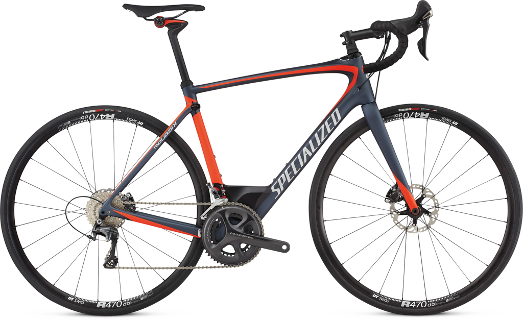 Roubaix Expert come complete with a full Shimano Ultegra mechanical drive set and Shimano Ultegra, hydraulic disc brakes. Wheels are DT R460 Disc Pro.