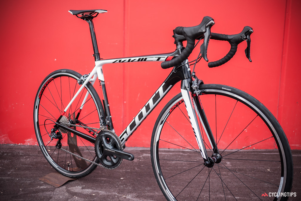 The Addict 20 is built to appeal to mid-range shoppers with an Ultegra groupset and an asking price of $4,100.