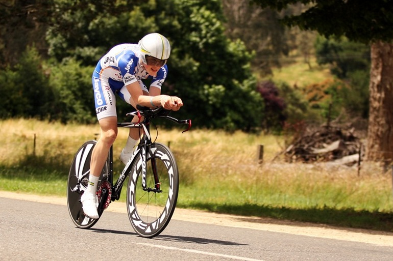 Young-gun Alex Morgan has been a dominant force in the Tour of Bright TT in recent years.