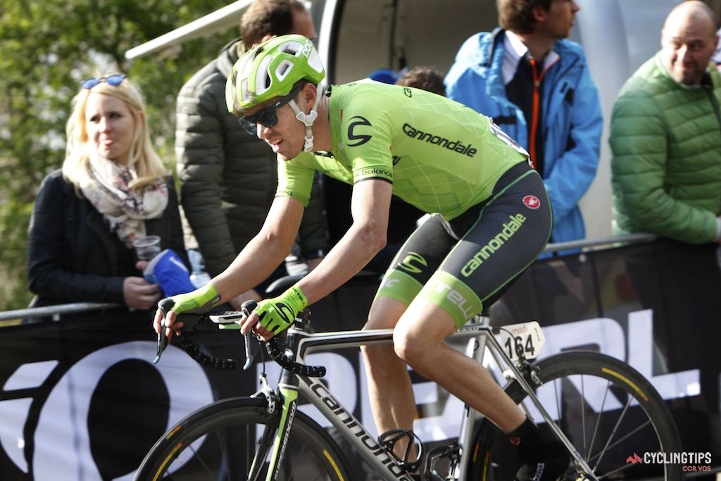 Alex Howes (Cannondale) had an impressive spring riding in the breakaway at Amstel Gold Race and finishing 21st in Liege-Bastogne-Liege.