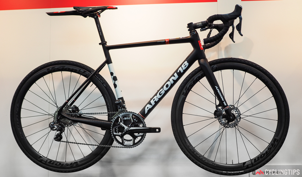 Argon 18's Krypton XRoad is designed for riders who want more stable handling, disc brakes, and more tire clearance for tackling dirt and gravel.