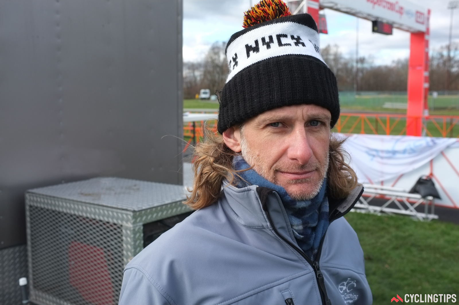 Bill Elliston, November 2017, at the Supercross Cup event in Suffern, New York, where he worked as race announcer.