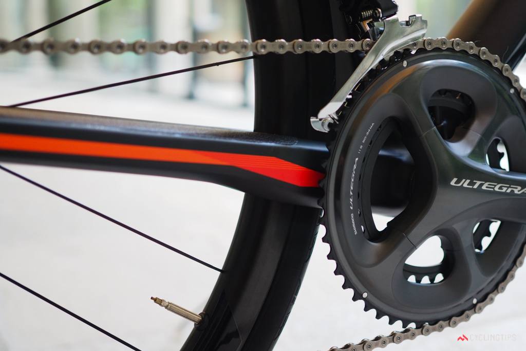 How much does the chainstay actually move at this point when you hit a bump? Probably not very much.