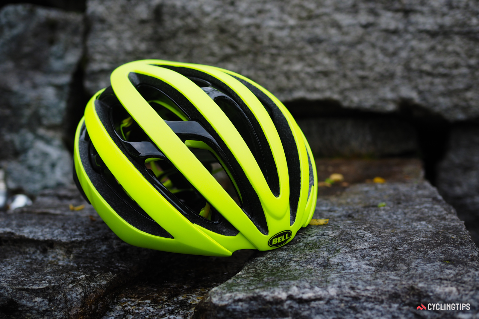 Bell's new Zephyr helmet looks normal enough, but hidden underneath is a construction method unlike any other bicycle helmet on the market.
