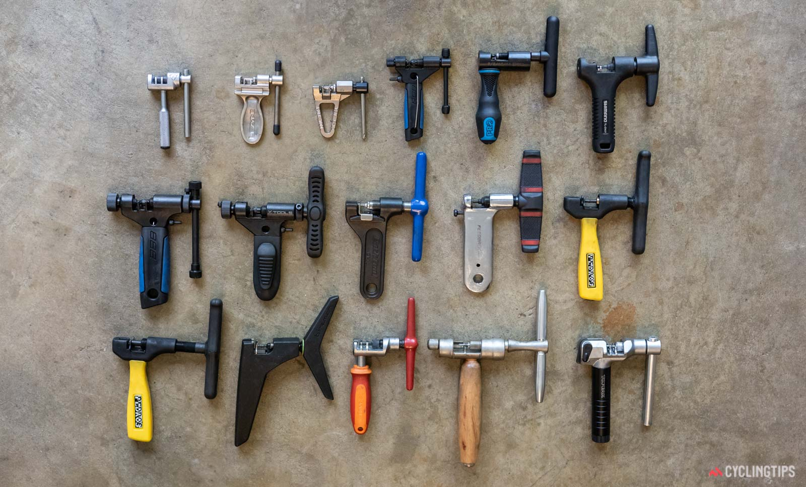 Chain breaker tools tested