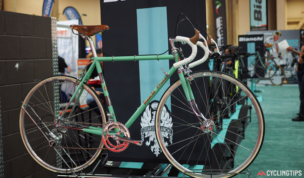 Bianchi was one of the first mainstream companies to offer a throwback-style road bike, catering to the newfound buzz surrounding events like L'Eroica.