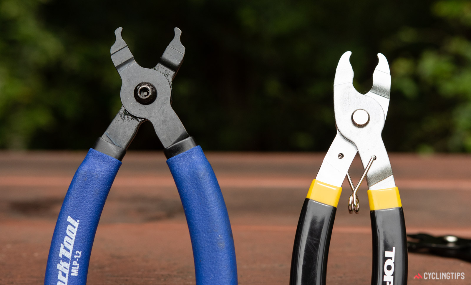 Master link plier tools - Park tool and Topeak