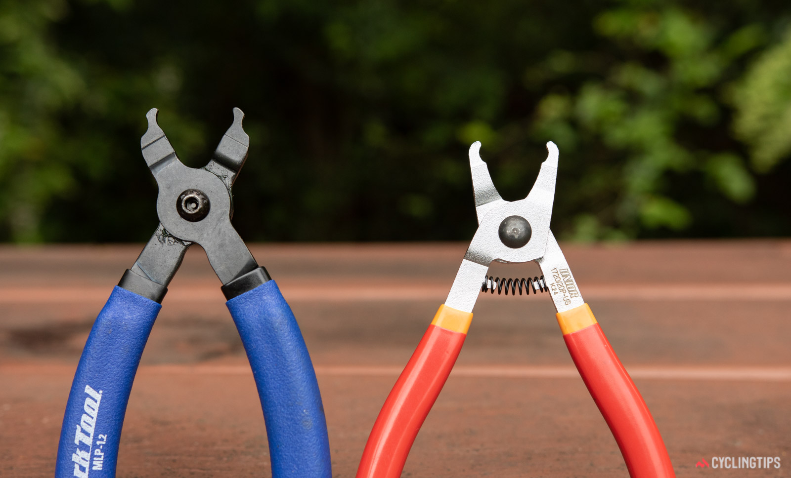 Master link plier tools - Unior and Park Tool