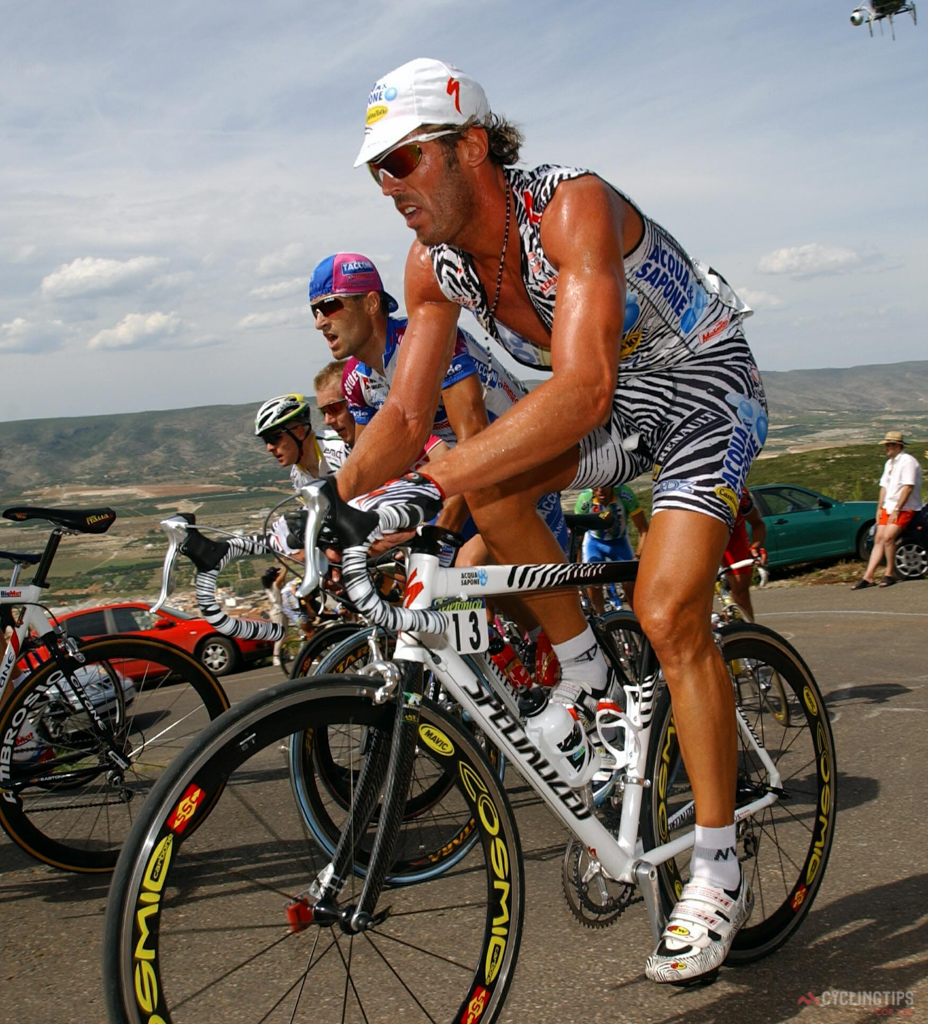 If Mario Cipollini couldn't get away with it, neither can you. Sleeveless jerseys are a serious no, no.