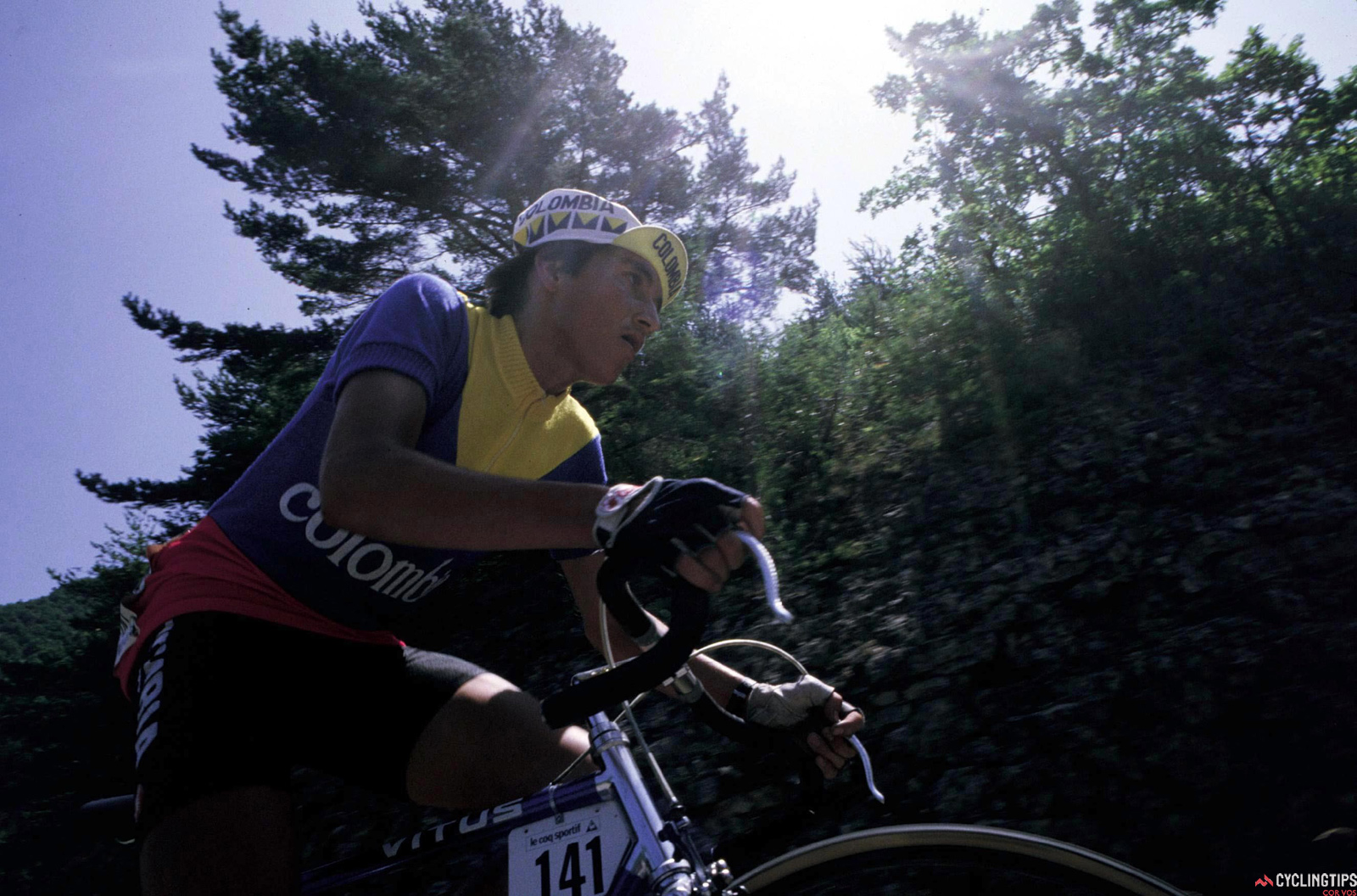 Lucho Herrera was, for many years, one of the country's top riders and represented the first big wave of Colombian riders in the Tour de France.