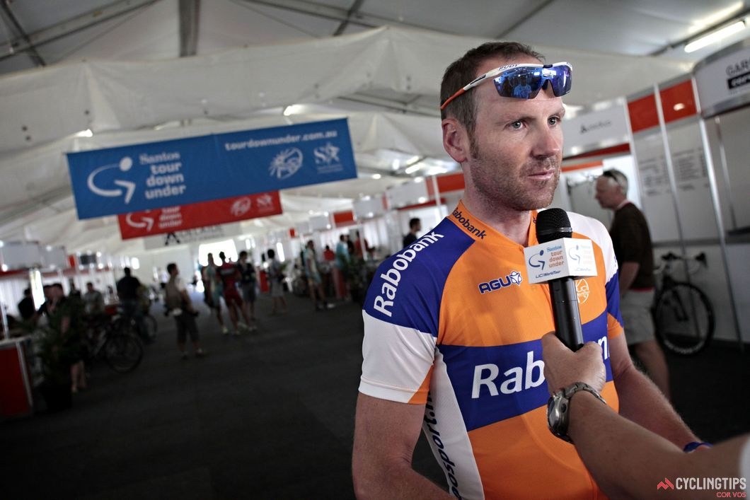 Brownie raced the Tour Down Under a record 14 times, claiming three stage wins along the way.