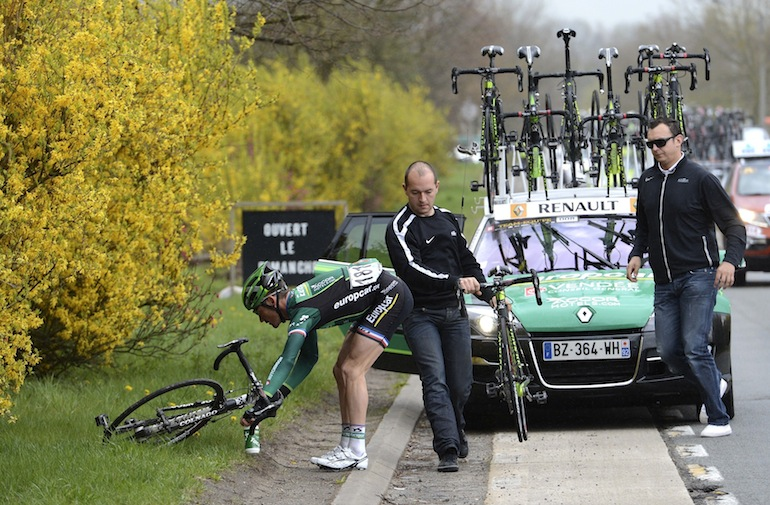 Win a ride with Team Europcar for a stage! (minus Thomas Voeckler unfortunately).