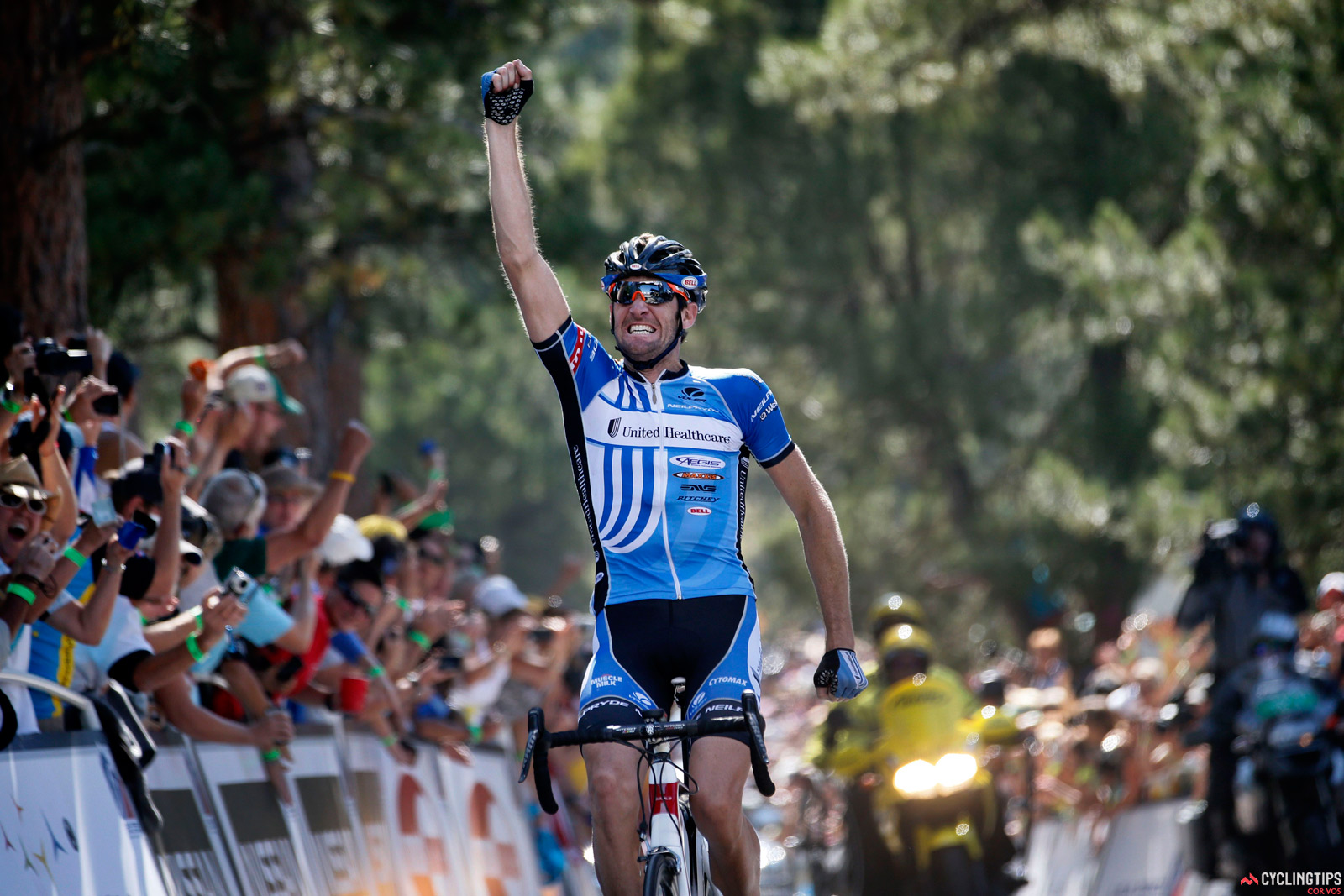 Sutherland won stage six of the 2012 USA Pro Challenge but then decided to work for others rather than continue in a leadership role.