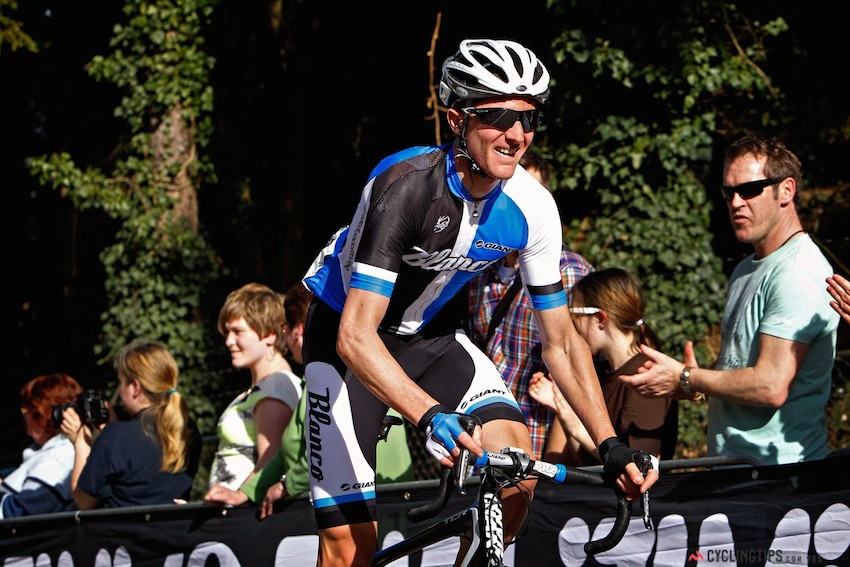 Tanner had a realistic shot at victory from the break at the Amstel Gold Race in 2013.