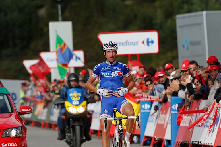 A big congrats to Alexandre Geniez who won an incredibly tough stage 15.